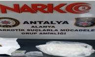 Alanya'ya uyuşturucu sevkiyatı polise takıldı