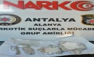 Uyuşturucu tacirleri Alanya polisinden kaçmadı!