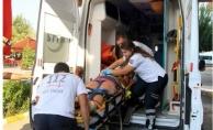 Alanya'da motosikletin çarptığı Rus kadın yaralandı