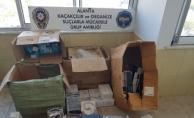 Alanya polisi gümrük kaçağına geçit vermiyor