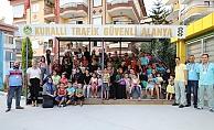 Alanya Belediyesi trafikte eğitime ışık oldu