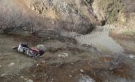 Alanya'da uçuruma yuvarlanan motosikletli öldü