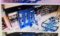 Alanya'da market hırsızı yakayı ele verdi!
