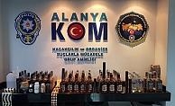 Alanya'da kaçak içki operasyonunda yakalanan şüpheli tutuklandı