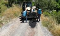 Belediyeden kırsalda hummalı çalışma