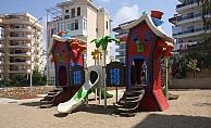 Belediyeden Tosmur'a yeni çocuk parkı