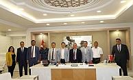 Belediyeler Birliği'nden Başkan Böcek'e ziyaret