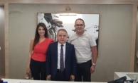 CHP Alanya'dan, Başkan Böcek'e taziye ziyareti