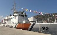 Sahil Güvenlik gemisi ziyarete açıldı