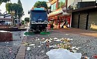 Alanya Belediyesi 4 günde 4 bin ton atık topladı
