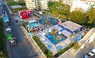 Alanya Belediyesi'nden Kestel'de çocuklara yeni park