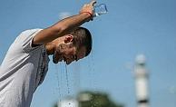 Alanya'da hava sıcaklığı 40 dereceyi gördü!