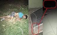 Alanya'da çatıdan sarkan kişi kablonun kopmasıyla yere çakıldı!