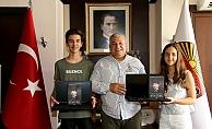 Başkan Şahin, Alanya'nın gururu olan öğrencileri tebrik etti