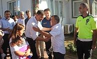Gazipaşa'da Kaymakam Sakar'a veda