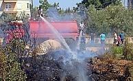 Mahalleyi sokağa döken yangın