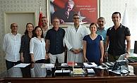 AGC yönetiminden Lakadamyalı'ya ziyaret
