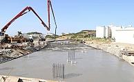 Alanya ALKÜ'de çarşı inşaatı başladı
