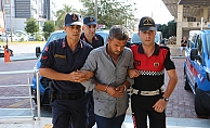Alanya'da eşini öldüren cani koca tutuklandı!