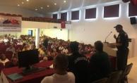 Alanya'da okul servislerin denetlenmesi yönelik toplantı