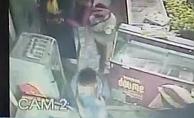 Alanya'da okul çantasıyla hırsızlık kameralara takıldı