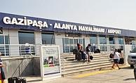GZP'ye Ağustos'ta inen yolcu sayısı 773 bin