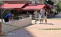 Kaldırımda bulunan kurusıkı tabanca polisi alarma geçirdi