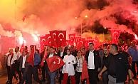 Alanya'da Cumhuriyet Bayramı'nda coşkulu kutlama