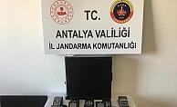 Alanya'da kredi kartı operasyonu: 5 gözaltı