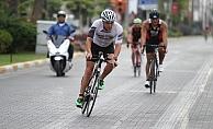 Alanya'da triatlon  heyecanı başladı