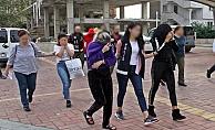 Alanya'da fuhuş operasyonu: 4'ü kadın 6 gözaltı