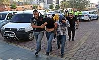 Alanya'da operasyonda yakalanan uyuşturucu tacirleri adliyede