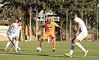Alanyaspor'un hazırlık maçında dostluk kazandı