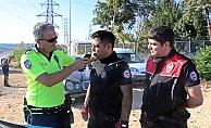 Alkol metreyi üfleyen polis ile şüphelide alkole rastlanmadı