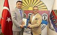 ALTSO, Kırgız Büyükelçiyi ağırladı