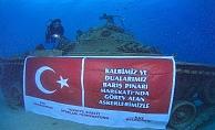 Barış Pınarı harekâtına su altından anlamlı destek