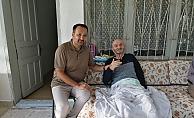 Büyükşehir' den hasta yatağı yardımı