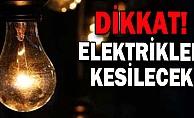 Dikkat! Alanya'da bu mahallelerde elektrik kesilecek
