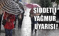 Meteoroloji'den Alanya'ya sağanak yağmur uyarısı!