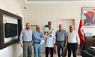 Oda başkanlarından Lakadamyalı'ya ziyaret