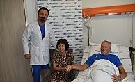Tatile geldiği Antalya'da 5 koroner arteri değişti