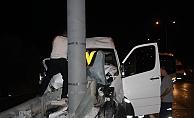 Tur minibüsü kazası: 5 yaralı