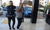 Alanya'da eroinle yakalanan şüpheli adliyede