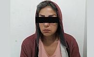 Alanya'da İranlı kadın hırsızlık yaparken yakalandı