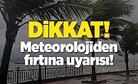 Alanya#039;da sağanak yağış ve fırtına uyarısı