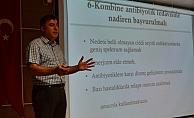 ALKÜ'de sağlık çalışanlarına antibiyotik kullanımı anlatıldı