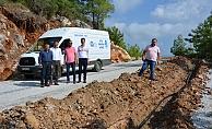 ASAT Alanya Cikcilli Mezarlığı'nın su sorununu çözdü