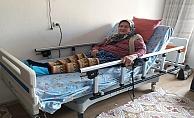 Büyükşehrin hasta yatağı desteği sürüyor