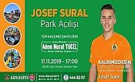 Josef Sural'ın adı Alanya'da parkta yaşayacak