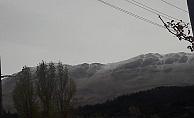 Yılın ilk karı yağdı